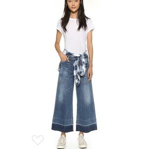 Citizens of Humanity Melanie Wide Leg Crop Jeans
